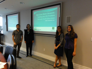 The CEC Team presenting at September CREEC Meeting